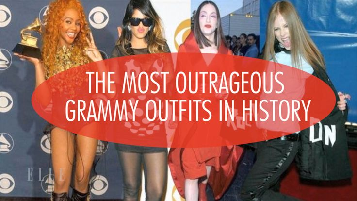 The Most Outrageous Grammy Outfits in History: J-Lo, Destiny's Child, Lady Gaga, & More! Check out the most outrageous Grammy outfits in history