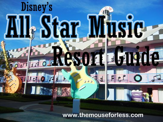 Disney's All Star Music Resort Guide from themouseforless.com #DisneyWorld #Vacation