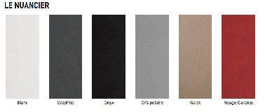 Nuancier 6 couleurs de la peinture effet b ton de tollens for Nuancier peinture carrelage