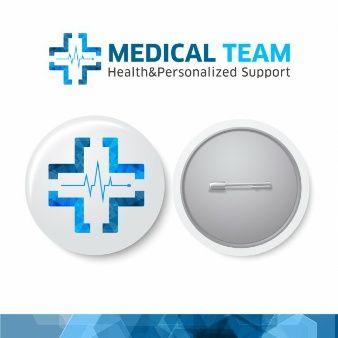Медицинский Логотип команды