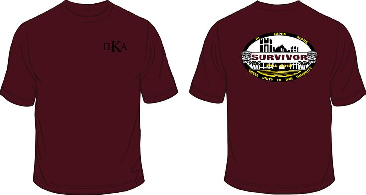 Pike Fraternity shirts