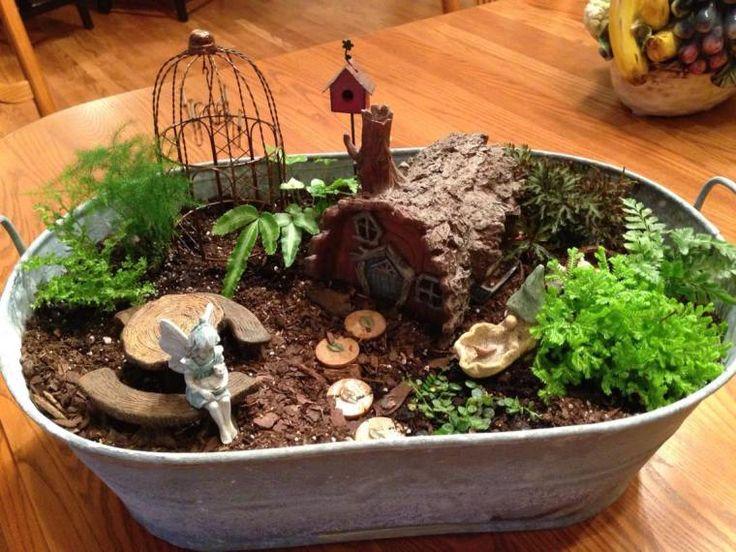 28 best indoor fairy gardens images on pinterest fairies garden the magic of fairy gardens workwithnaturefo