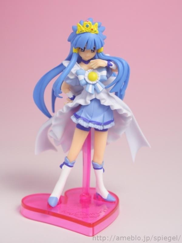 Princess Beauty - Smile Precure! - バンダイ食玩 スマイルプリキュア! プリキュアプリンセスフォームキューティーフィギュア レビュー