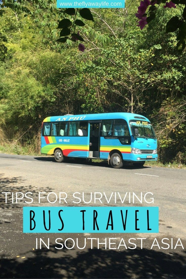 If you are traveling Southeast Asia you will be taking a lot of buses to get from place to place. This guide will help you surviving the long hours on Southeast Asia bumpy roads!