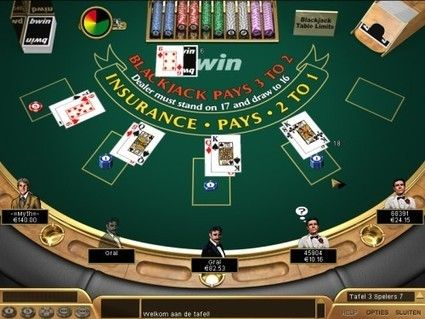 Blackjack Slot Slot Machine Paytables