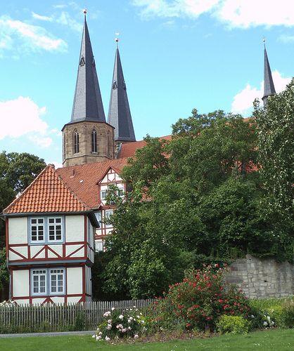 duderstadt im park-  -deutschland