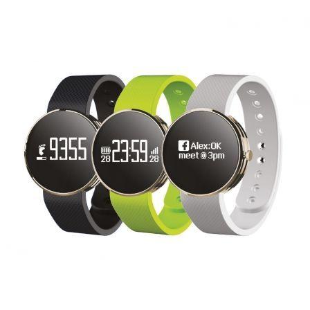 Reloj Smartwatch y Pulsera Fit con 3 correas en Blanco, Verde y Negro https://www.intertienda.es/tienda/smartwatches/reloj-smartwatch-y-pulsera-fit-con-3-correas-en-blanco-verde-y-negro/