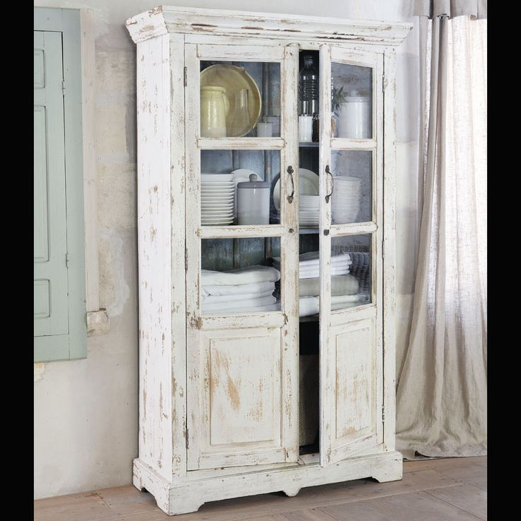 vetrina bianca in mango effetto anticato l 105 cm avignon dolce casa pinterest the o 39 jays. Black Bedroom Furniture Sets. Home Design Ideas