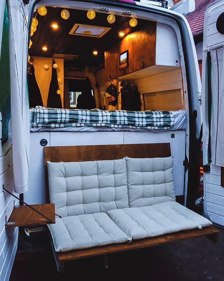 Idée à garder!! #vanlife #campervan #van #camionaménagé #campingcar –