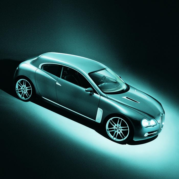 2003 Jaguar R D6 Concept Car Presskit