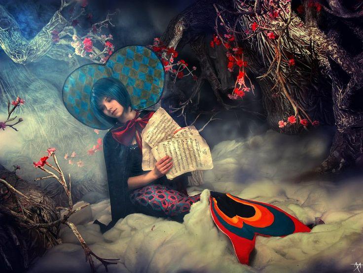 Madoka Witches - Oktavia von Seckendorff - Sayaka? by Muffin-Kiki ...