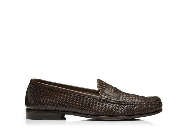 TOM FORD Neville Woven Loafer. #tomford #shoes #flats