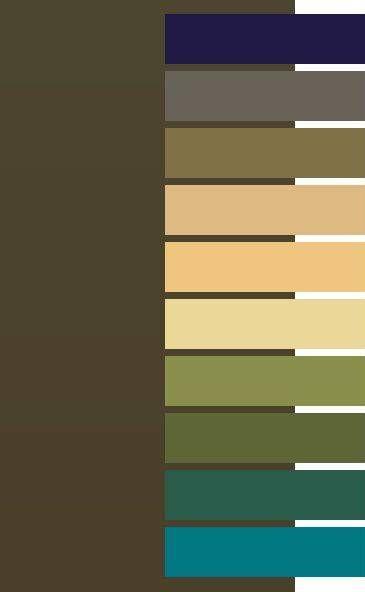 Dark Olive color for Dark Autumm