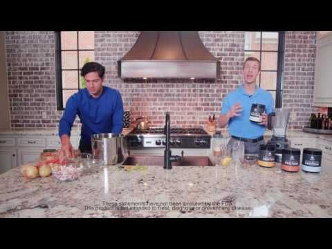 Jordan Rubin & Dr. Josh Axe Make Bone Broth - YouTube