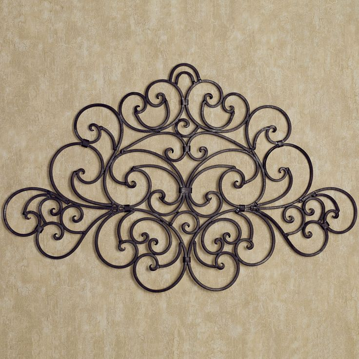 1000 ideas about wrought iron wall decor on pinterest. Black Bedroom Furniture Sets. Home Design Ideas