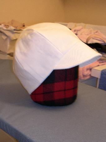 DIY baseball cap tutorial