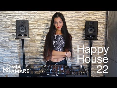 💣 Happy House 22 💣 Mia Amare best Bass Deep Vocal House 2017 DJ Mix DJan...