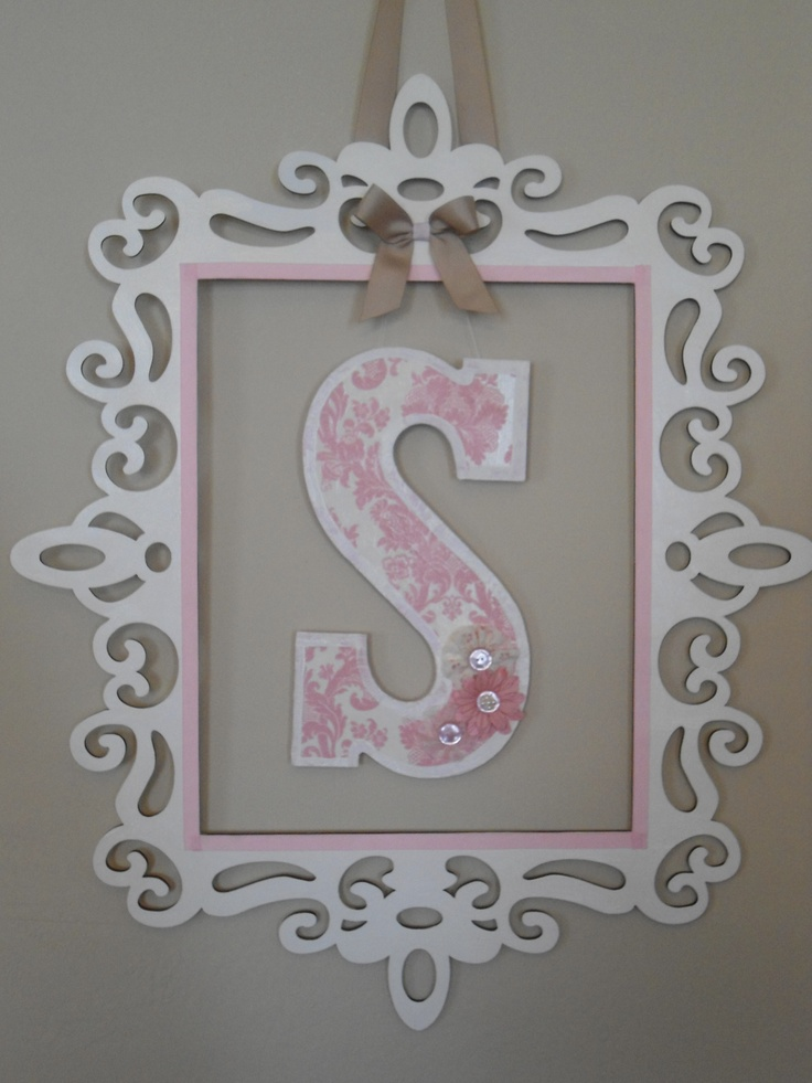 303 best crafts letters images on pinterest cardboard letters using a precision cut frame from michaels painted with acrylic paint and sealed with clear varnish letter covered with scrapbook paper and sealed with mod spiritdancerdesigns Images