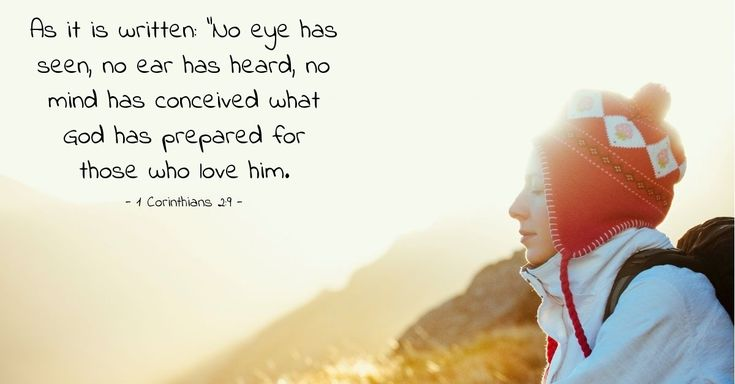 Verse of the Day - 1 Corinthians 2:9