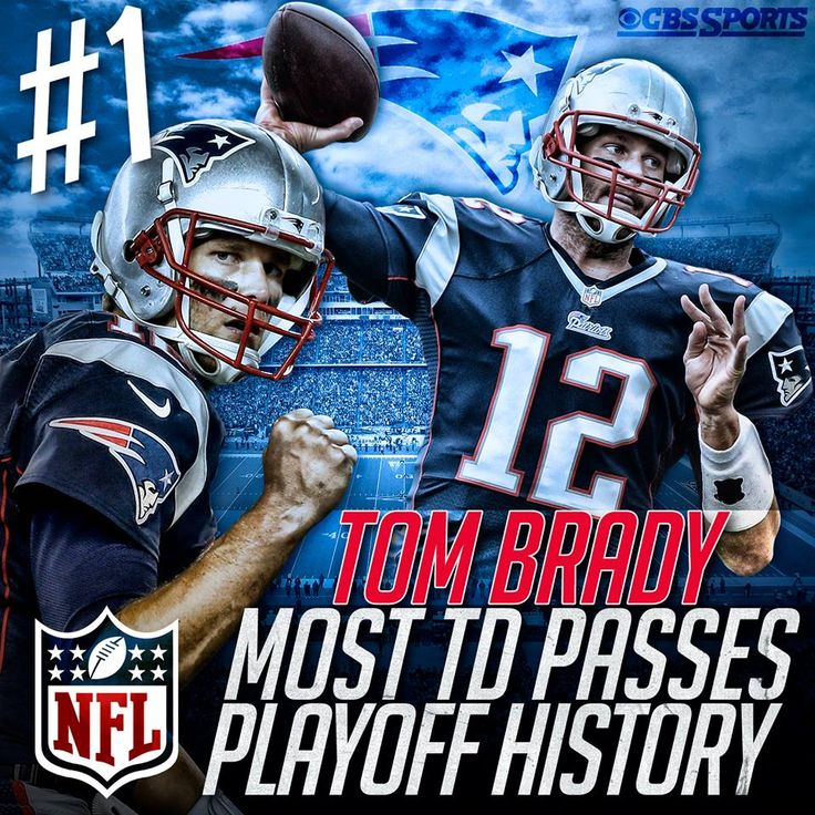 Tom F***in' Brady #12 Patriots QB #1 All-Time Playoff TD Passes, Bitchez!