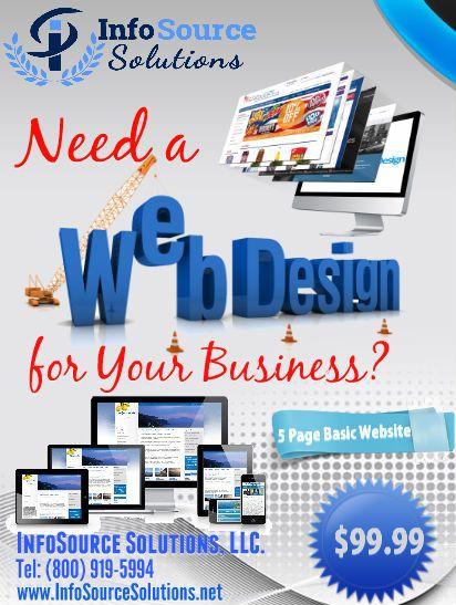 Basic Website Design (up to 5 Pages)