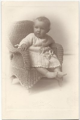 This gorgeous baby was born at the turn of the last century