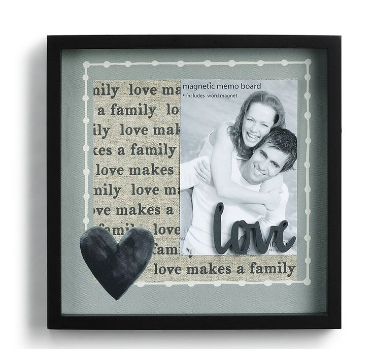 Love Magnetic Picture Frame