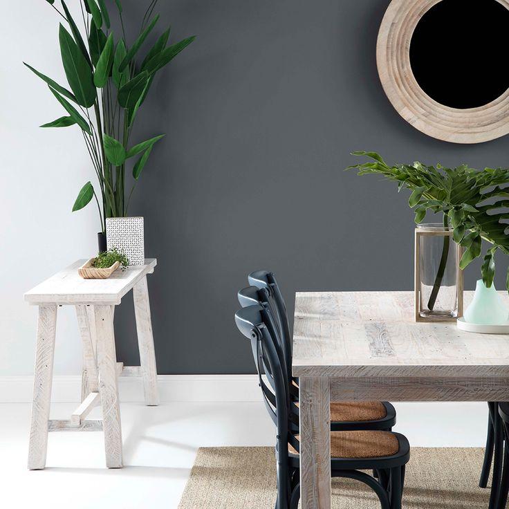 Crisp coastal feels with our NEW HAVEN dining! #coastal #goals #diningroom #interiordesign
