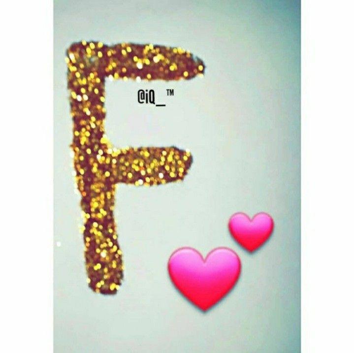 Pin By Floralba F V On Girls Status Stylish Alphabets Alphabet Wallpaper Letter F