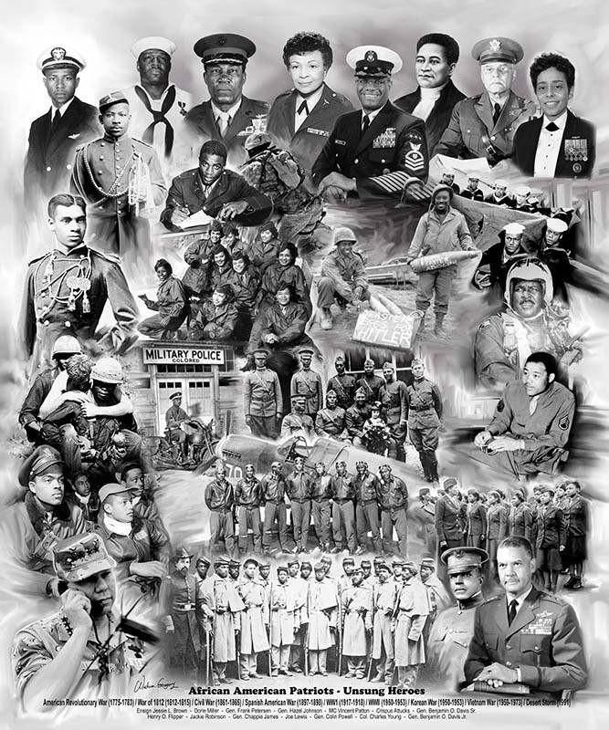 African American Patriots: Unsung Heroes (2014) by Wishum Gregory