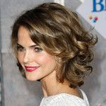 Keri Russell Medium Length Layered Curly Hairstyles-5