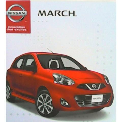 Nissan March 2016. Catálogo Publicitario Original