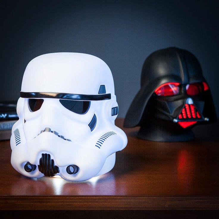 Marvelous Lampada Casco Star Wars