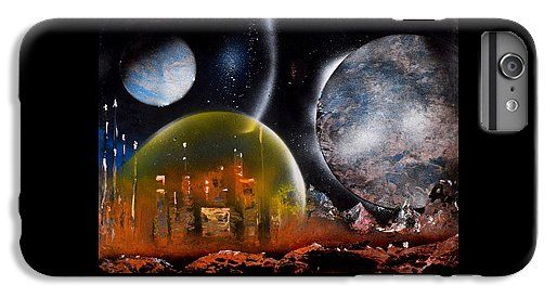 Protection IPhone 6 Plus Case Printed with Fine Art spray painting image Protection by Nandor Molnar (When you visit the Shop, change the orientation, background color and image size as you wish)