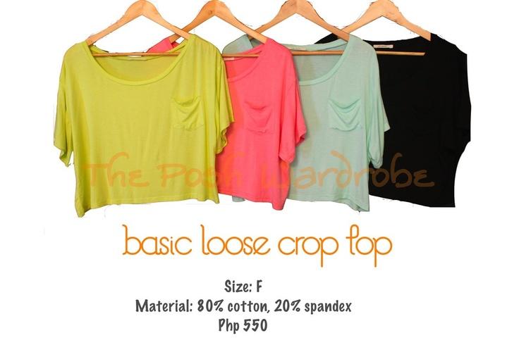 loose crop top