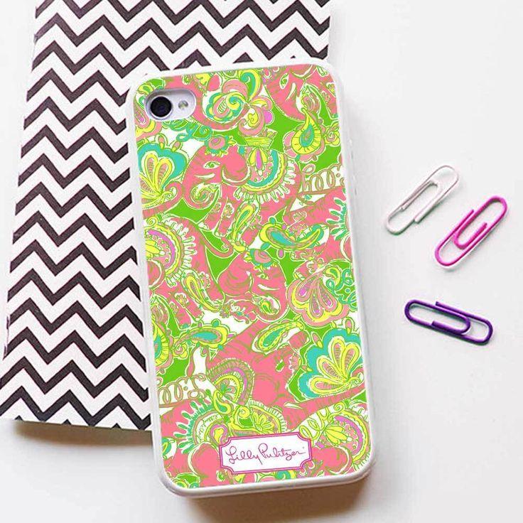 Lilly Pulitzer Vintage Case for iPhone 4 5 6 6plus 6s 6s plus Rubber/TPU Plastic #UnbrandedGeneric