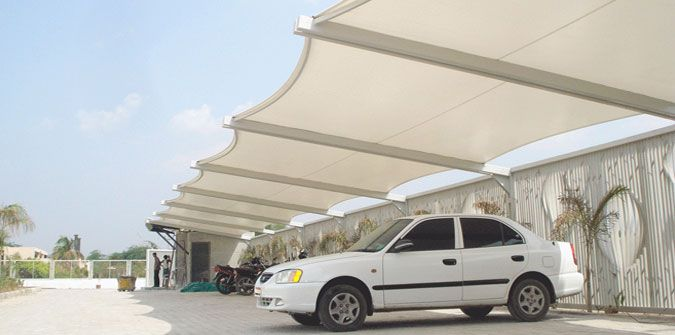 Tensile Structure in Delhi| Car Parking Tensile Structure