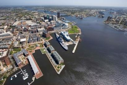 Tour the Naval Station Norfolk. NAS is the largest naval base in the world.