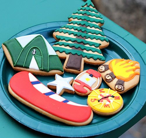 love these camp cookies!!