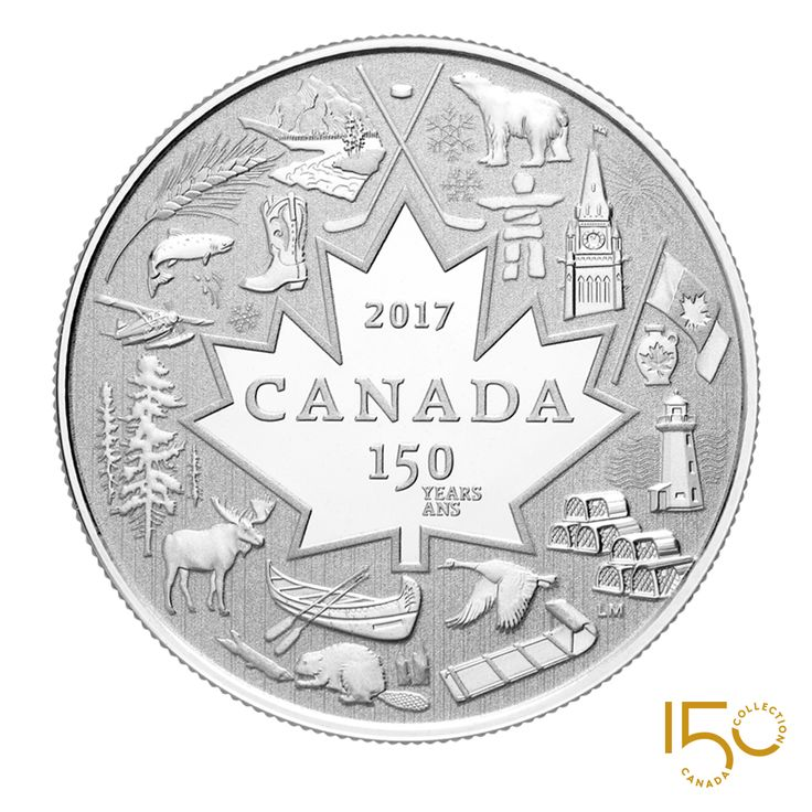 2017 Heart of Our Nation coin. #holdthemoment #Canada150