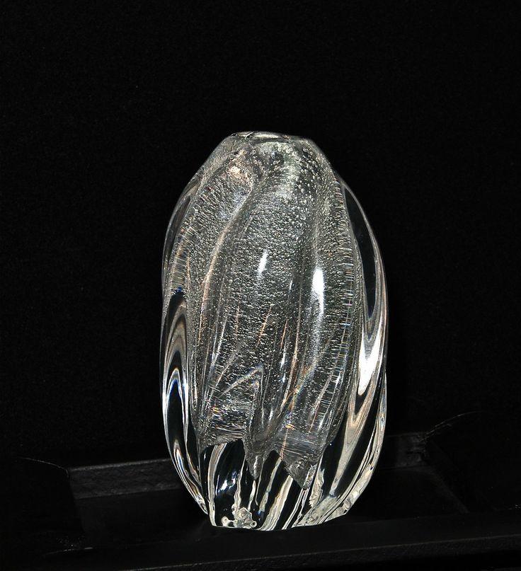 Mint Tapio Wirkkala Iittala Controlled Bubble Spiral Art Vase Signed RARE | eBay