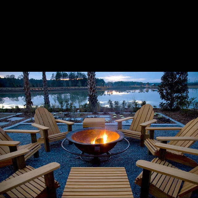 140 Best Fire Pit Images On Pinterest Landscaping