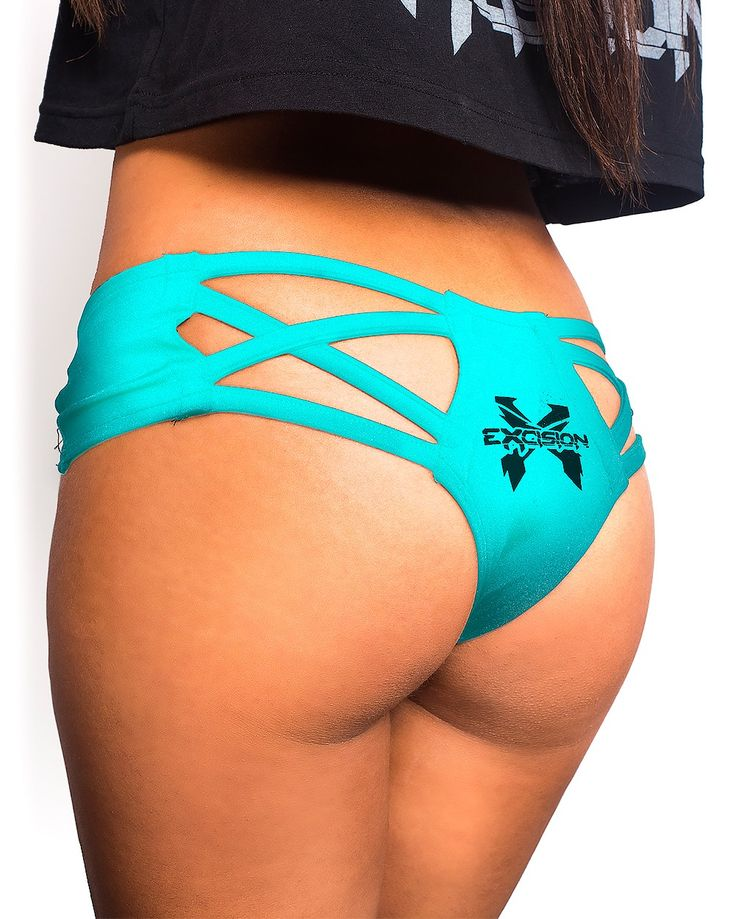 Excision X Cross Cut Out Booty Shorts Undergarments