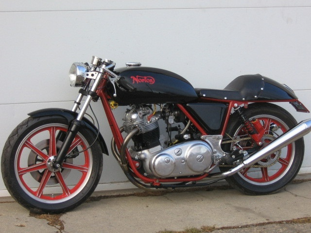 1975 Norton - nice engine but a pain to work on due to the later models having 3 different fastening standards (whitworth, imperial & metric), whilst trying to change the tooling over at the factory.
