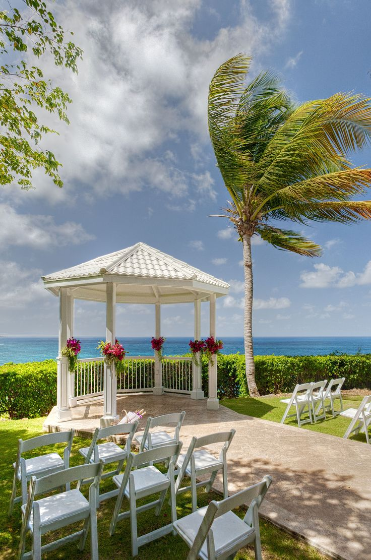 all inclusive beach wedding destinations%0A St Thomas Wedding Gazebo at the St Thomas Marriott Frenchman u    s Reef  Book  with Beach Weddings