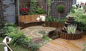 Resultado de imagen para decoracion de jardines