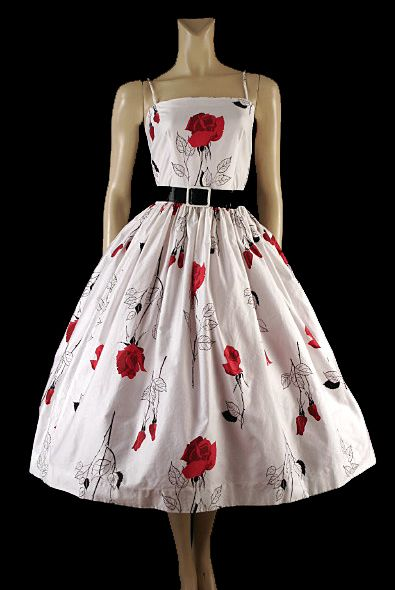 I'm in love with dresses from the 50's