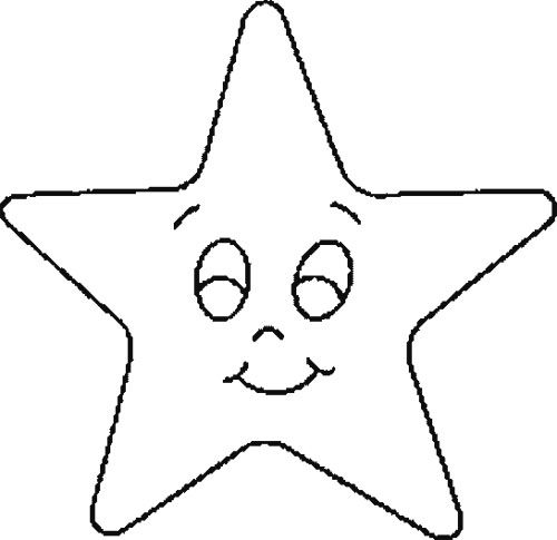 Cute Christmas Star Coloring Page For Sophia Pinterest