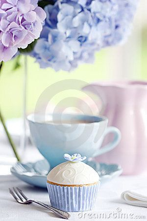 Afternoon tea by Ruth Black, via Dreamstime