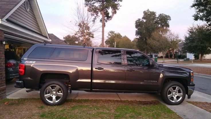 Image result for lifted silverado truck topper